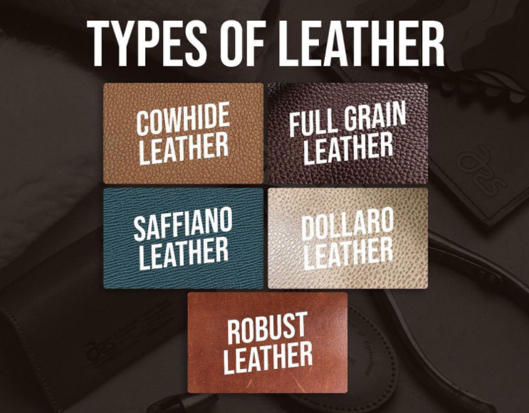 WHICH TYPE OF LEATHER IS YOUR BAG?